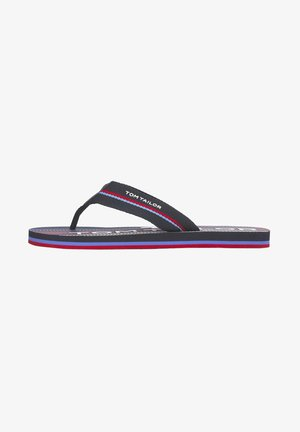 MIT FARB-DETAILS - Pool shoes - navy-red