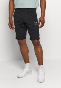Nike Sportswear - Shorts - black/smoke grey/white - 0