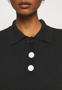 Claudie Pierlot - MINIMA - Poloshirt - noir - 5