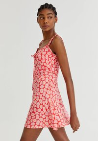 PULL&BEAR - WITH TIE DETAIL - Day dress - pink - 3