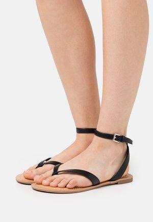 SIMKOTRA - T-bar sandals - black