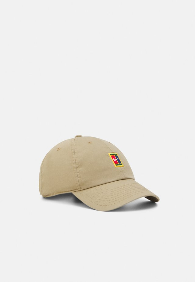 COURT LOGO UNISEX - Caps - parachute beige
