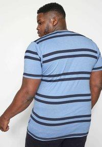 BadRhino - DOUBLE  - Print T-shirt - blue - 2