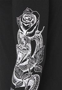 YOURTURN - UNISEX - Långärmad tröja - black - 2
