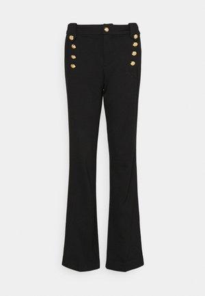 MODERN PONTE - Trousers - polo black
