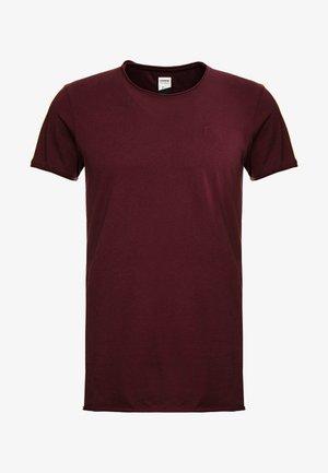 EXPAND - Basic T-shirt - burgundy