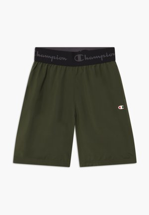 CHAMPION X ZALANDO BOYS PERFORMANCE SHORT - Pantalón corto de deporte - dark green