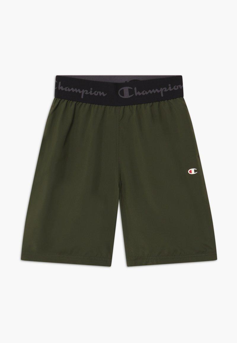 Champion - CHAMPION X ZALANDO BOYS PERFORMANCE SHORT - Sports shorts - dark green