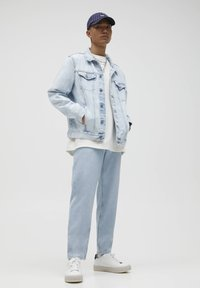 PULL&BEAR - STANDARD  - Jeans straight leg - light blue - 4