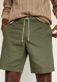 Mango - Shorts - khaki - 3