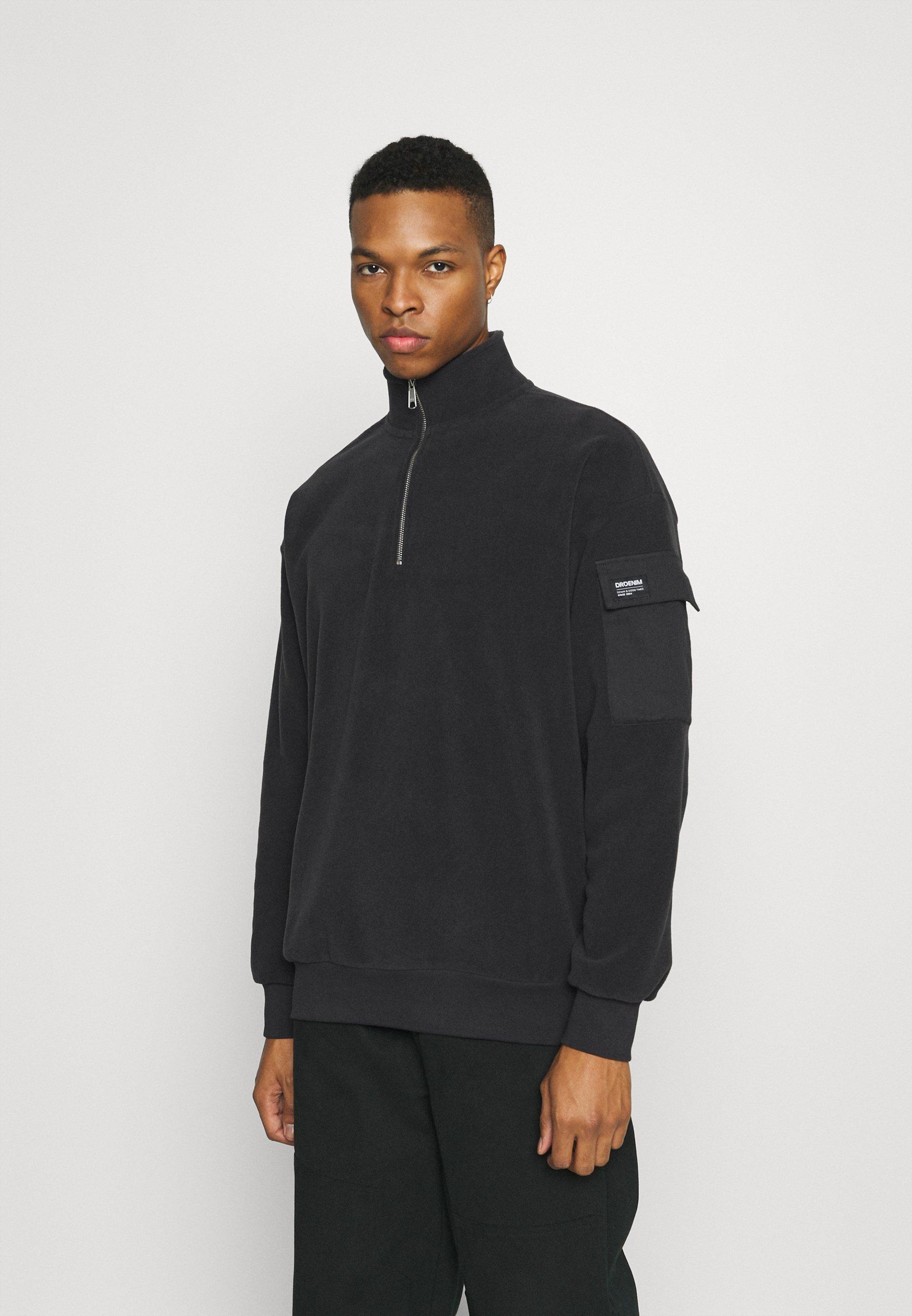 Men DARIO ZIP POCKET - Fleece jumper