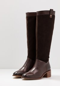 Anna Field - LEATHER BOOTS - Boots - dark brown - 4