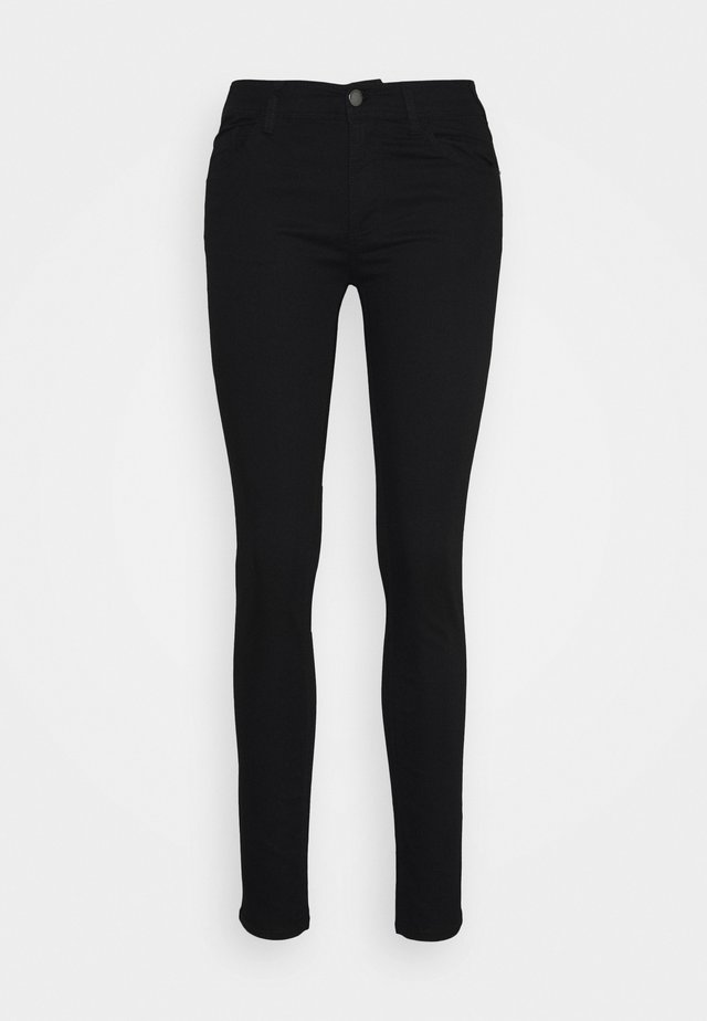POCKETS PANT - Vaqueros slim fit - denim nero