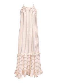 Next - ZEBRA TIERED  - Maxi dress - off-white - 0