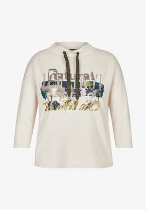 GLITZERSTEINEN - Sweatshirt - beige