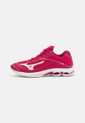 WAVE LIGHTNING Z6 - Zapatillas de voleibol - persian red/white sand/biking red