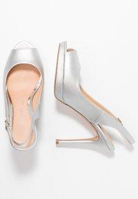 Lulipa London - DALLAS - Høye hæler med åpen front - metallic - 3