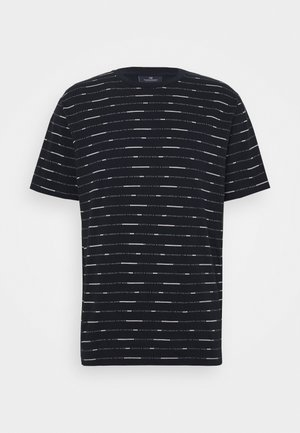 SHORT SLEEVE TEE WITH ALLOVER PRINT - Print T-shirt - combo
