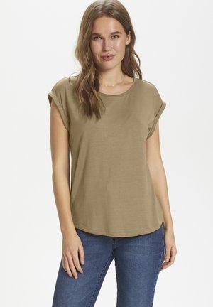 ADELIA - T-shirt basic - brown