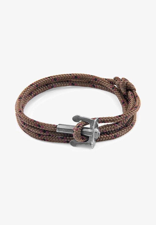 UNION - Armband - brown