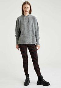DeFacto - Leggings - Trousers - bordeaux - 1