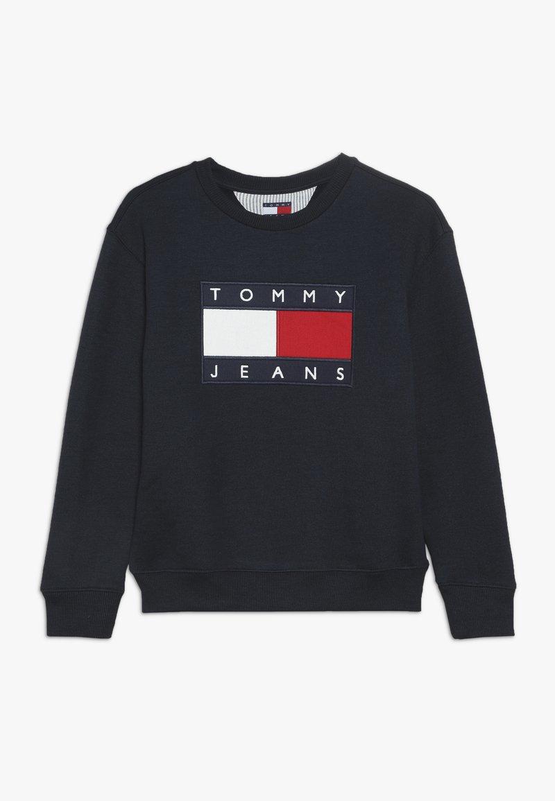 Tommy Hilfiger - UNISEX FLAG  - Sweatshirt - navy blazer