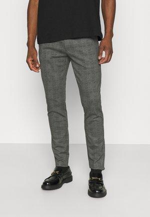 ONSMARK CHECK PANTS - Pantalones - medium grey melange