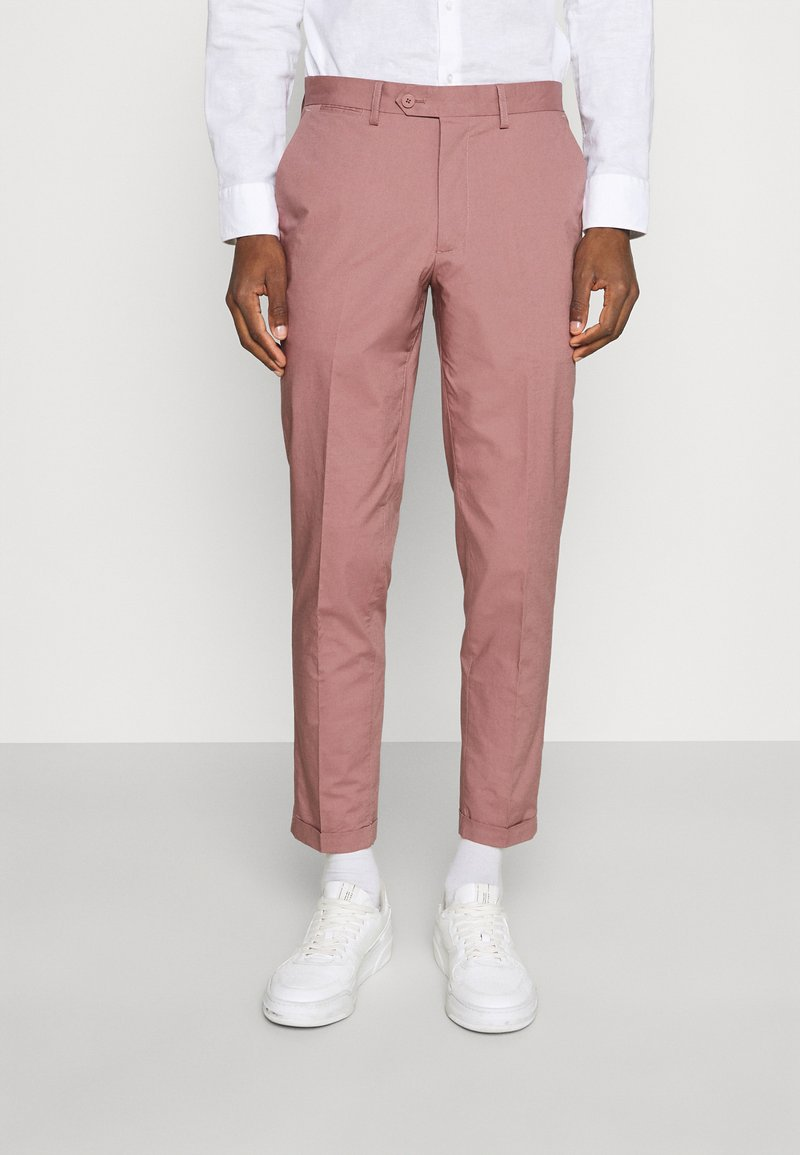 Jack & Jones PREMIUM - JPRLIGHT SID TROUSER - Trousers - soft pink