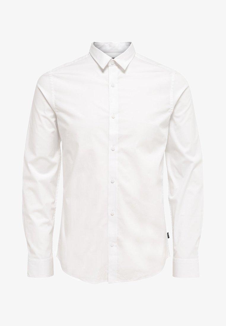 Only & Sons - ONSALFREDO LS SHIRT EX-SLIM NOOS - Overhemd - white