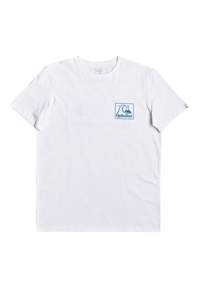 BEACH TONES - Print T-shirt - white