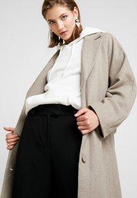 Weekday - VIVI COAT - Classic coat - mole - 0