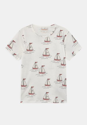 SAILING BOATS TEE UNISEX - Print T-shirt - white