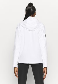 Reebok - CONTROL HOODIE - Soft shell jacket - white - 2