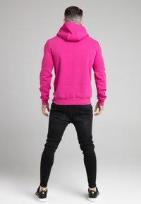 SIKSILK - BASIC OVERHEAD HOODIE UNISEX - Hoodie - pink - 2