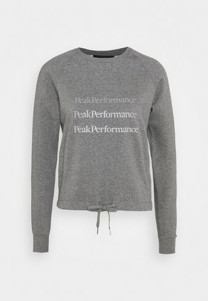GROUND CREW - Sweatshirt - grey melange