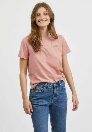 Basic T-shirt - old rose