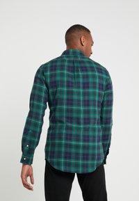 Polo Ralph Lauren - SLIM FIT - Vapaa-ajan kauluspaita - green - 2