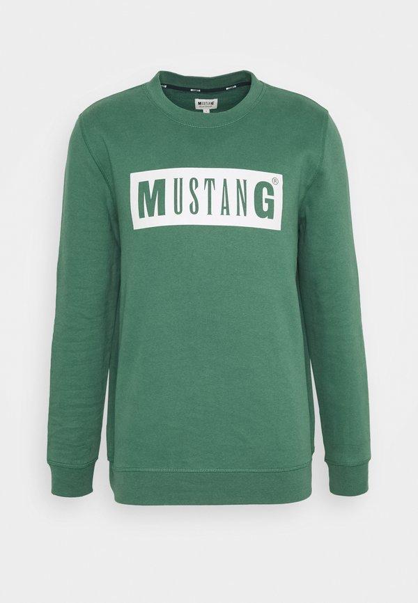 Mustang BEN - Bluza - mallard green/zielony Odzież Męska ECYY
