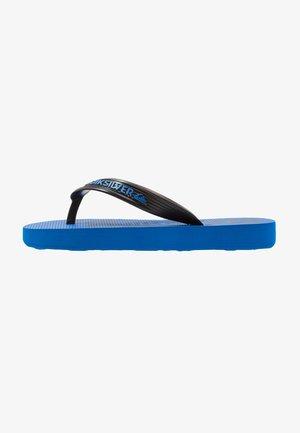 JAVA WORDMARK - Varvassandaalit - black/blue