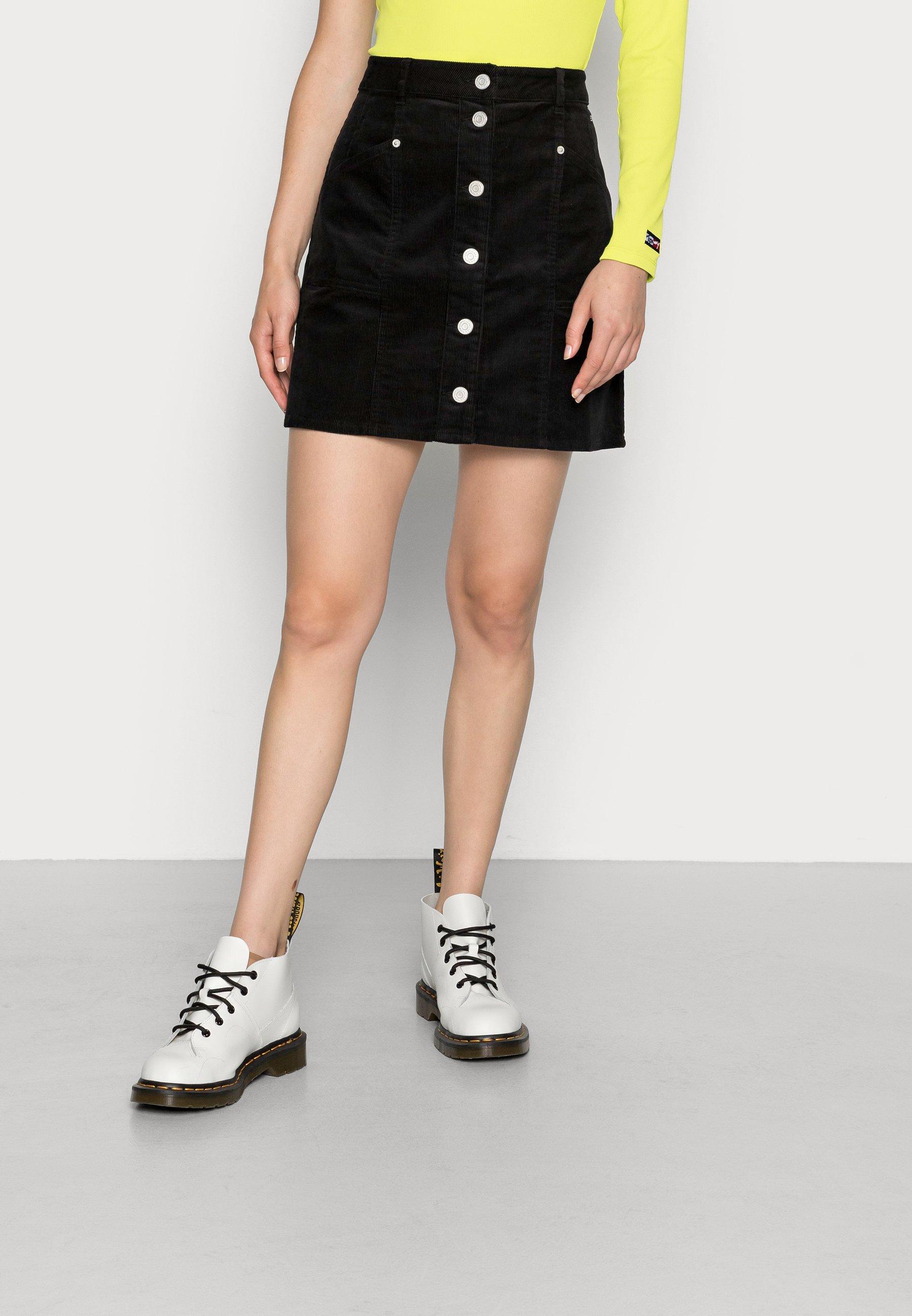 Mujer BUTTON THRU SKIRT - Minifalda