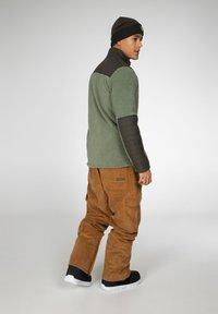 Protest - ADAM - Fleece jacket - green spray - 4