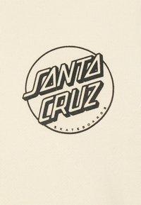 Santa Cruz - OPUS DOT SLEEVES HOOD UNISEX  - Hoodie - bone - 3