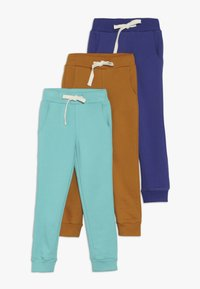 Friboo - 3 PACK - Jogginghose - sudan brown/navy blue - 0