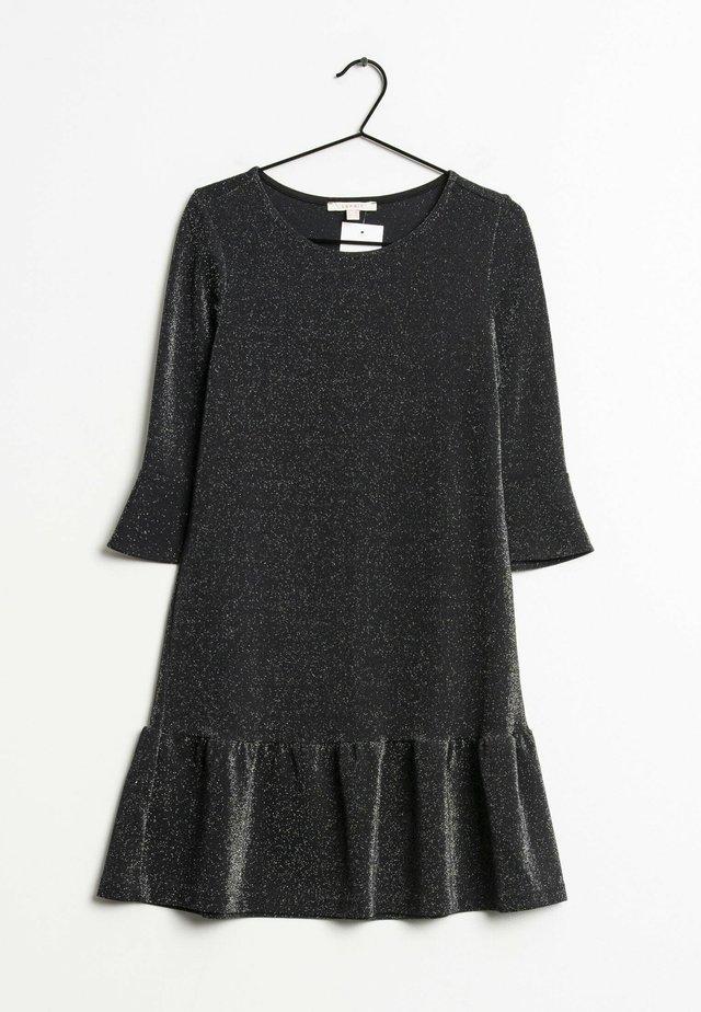 Korte jurk - silver