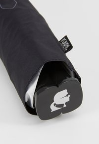 KARL LAGERFELD - IKONIK UMBRELLA - Schirm - black - 4