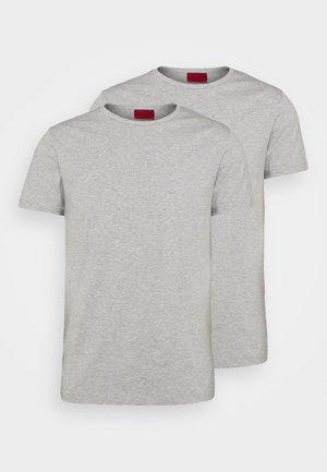 ROUND 2 PACK - Pamata T-krekls - grey/grey