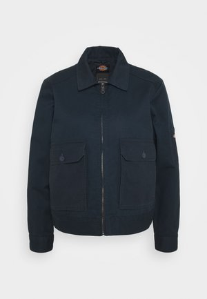 UTILITY EISENHOWER - Light jacket - rinsed dark navy