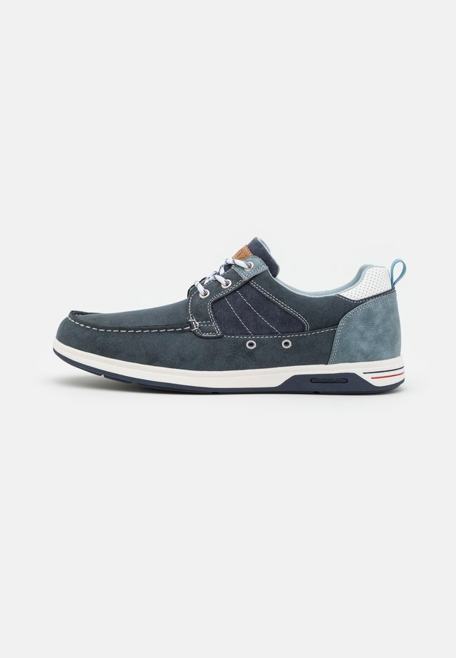 ENZO-601 - Casual lace-ups - navy