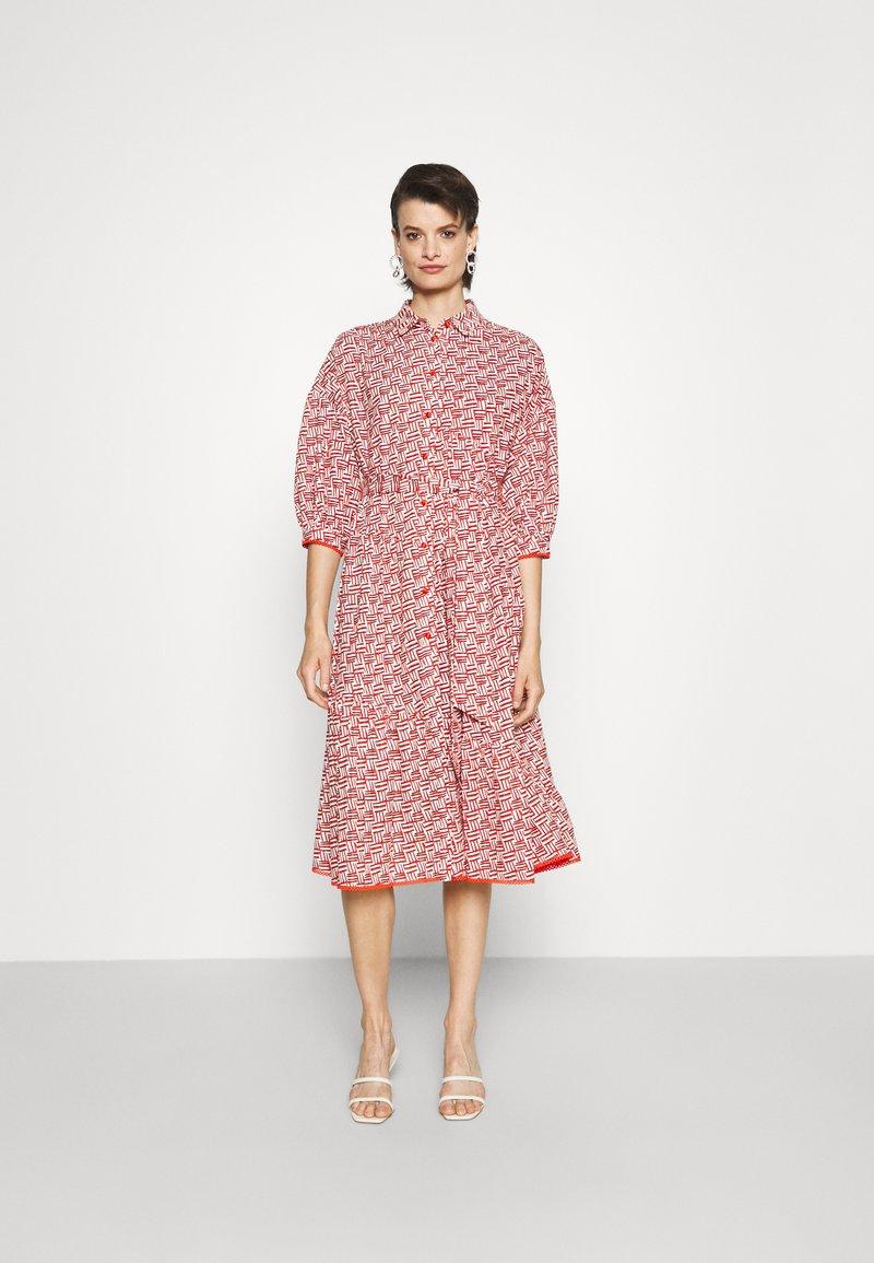 Diane von Furstenberg - LUNA DRESS - Denní šaty - orange