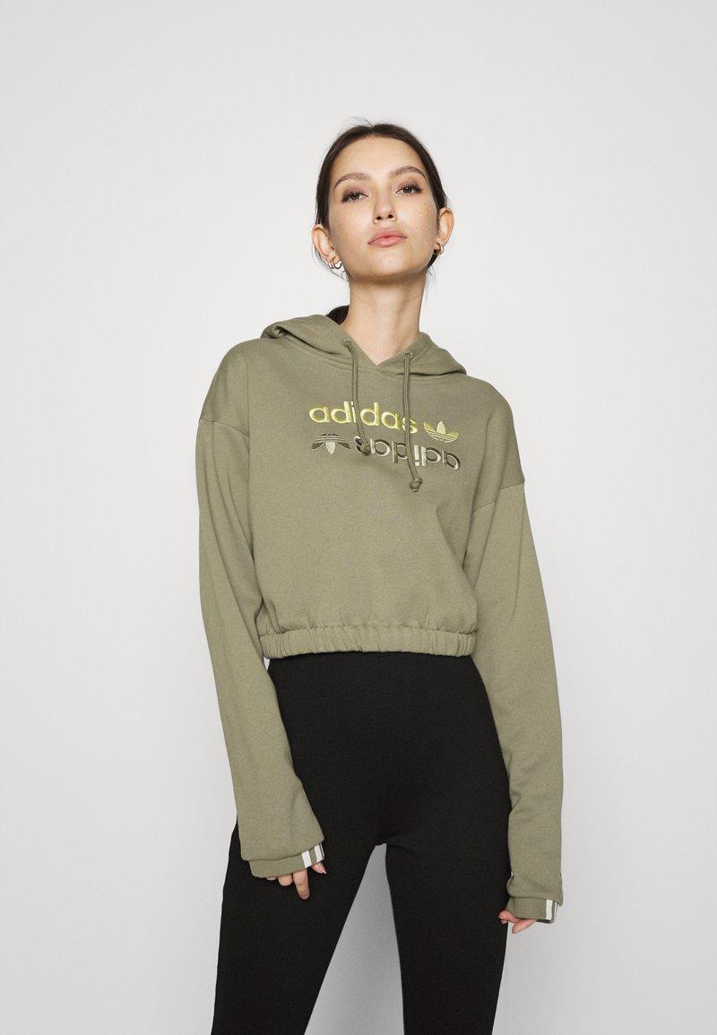 adidas Originals - HOODIE - Hoodie - clay